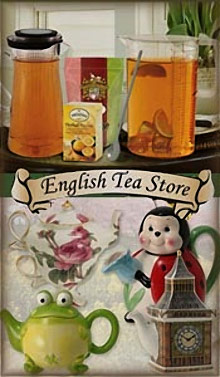 Picture of traditional english tea from English Tea Store catalog