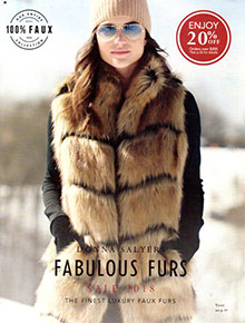 Picture of faux fur from Fabulous-Furs catalog