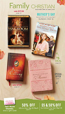 Picture of family christian catalog from Family Christian  catalog
