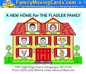Family Moving Cards