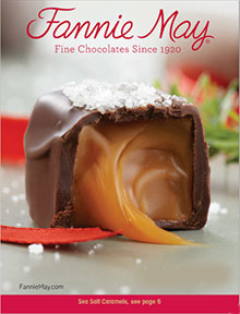 Picture of fannie may candy from Fannie May catalog