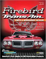 Picture of Trans Am parts catalog from Firebird TransAm Parts catalog