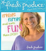 Image of plus summer clothes from Fresh Produce Sportswear catalog