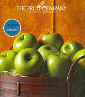Picture of edible fruit arrangement from The Fruit Company catalog
