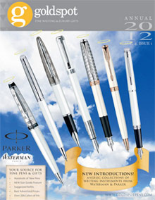 Picture of goldspot pens from Goldspot Luxury Pens catalog