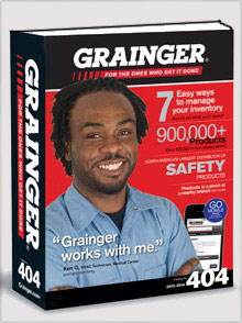 Picture of industrial supply from Grainger catalog