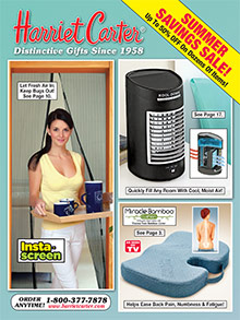 Picture of Harriet Carter catalog from Harriet Carter catalog