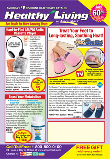 Picture of healthy living catalog from Healthy Living catalog