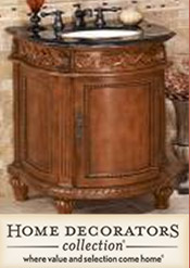 Image of elegant bathroom vanity from Home Decorators Collection - OLD catalog
