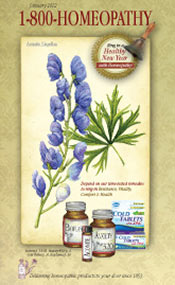 Picture of homeopathic cold remedies from 1-800 Homeopathy catalog