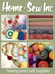 Picture of sewing made easy from Home Sew catalog