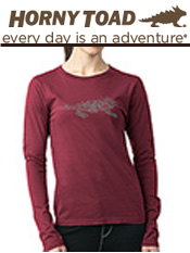Image of womens cotton shirts from Horny Toad Activewear catalog