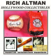 Picture of sports celebrity autographs from Hollywood Collectibles catalog
