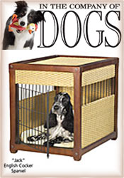 Image of cool dog crates from In The Company of Dogs catalog