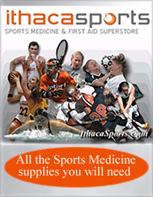 Picture of sports medicine supplies from Ithaca Sports catalog