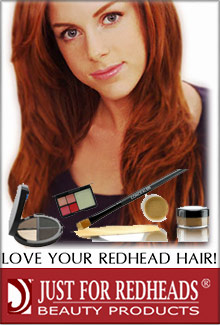Picture of makeup colors for redheads from Just For Redheads catalog