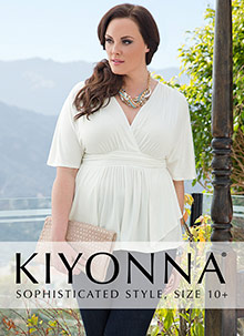 Picture of kiyonna clothing from Kiyonna catalog