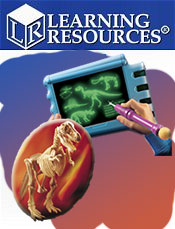 Image of fun dinosaur games from Learning Resources catalog