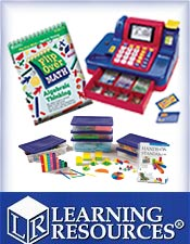 Image of fun math activities from Learning Resources catalog