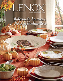 Picture of Lenox catalog from Lenox catalog