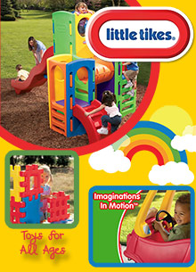 Picture of little tikes catalog from Little Tikes catalog