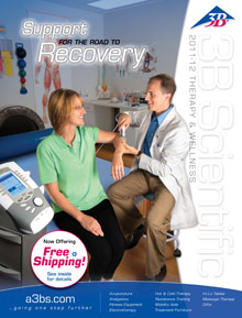 Picture of physical therapy tools from Massage & Therapy @ American 3B Scientific catalog