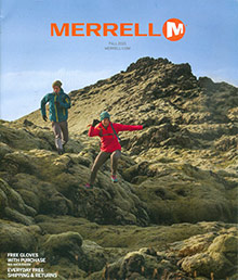 Picture of merrell shoes for women from Merrell catalog