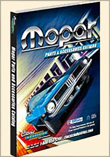 Picture of mopar performance catalog from Mopar Parts catalog
