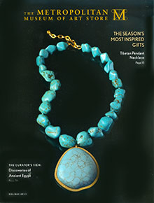 Picture of egyptian jewelry from The Metropolitan Museum Of Art catalog