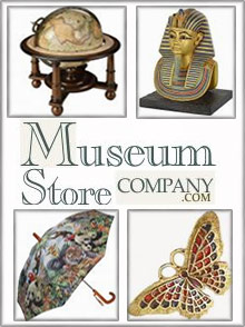 Picture of museum jewelry from Museum Store catalog