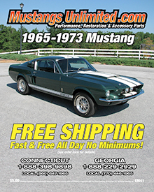 Picture of classic Mustang parts and accessories from Mustangs Unlimited catalog