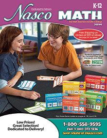 Picture of math activiites from Nasco Math catalog
