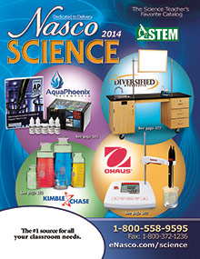 Picture of earth science activities for kids from Nasco catalog