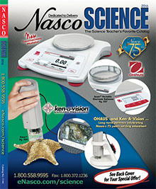Picture of earth science activities for kids from Nasco Science catalog