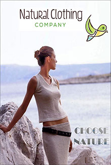 Picture of natural clothing from Natural Clothing Company catalog