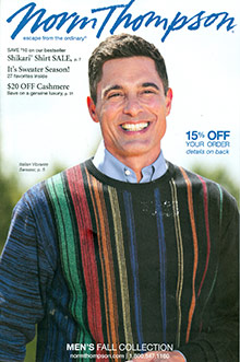 Picture of Norm Thompson catalog from Norm Thompson catalog