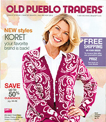 Picture of Old Pueblo catalog from Old Pueblo Traders catalog