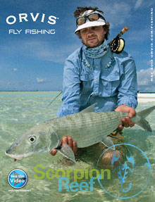 Picture of fly fishing catalog from Orvis - Fly Fishing catalog