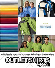 Picture of wholesale blank t shirts from Outlet Shirts catalog