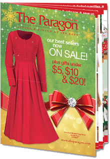 Picture of paragon catalog from The Paragon Women's Apparel catalog