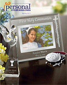 Picture of personalized plaque from Personal Creations catalog