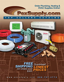 Picture of hydronic heat from  PexSupply catalog