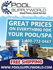 Picture of swimming pool supplies online from Pool Supply catalog