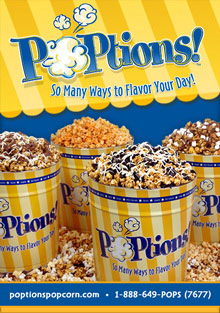 Picture of poptions popcorn from POPtions! catalog