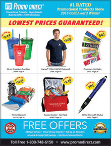 Picture of promo direct catalog from Promo Direct catalog