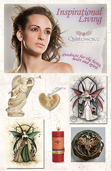 Picture of decorations for home from Quintessence Creations catalog