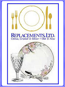 Picture of replacement china from Replacements catalog