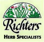 Picture of herb plants for sale from Richter's Herbs catalog