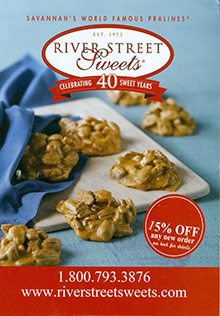 Picture of online candy stores from River Street Sweets catalog