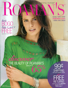 Picture of Women's Clothing from Roaman's catalog